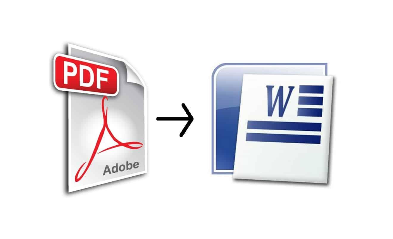 Comment convertir fichier pdf en word - Comment convertir un fichier pdf en open office ...